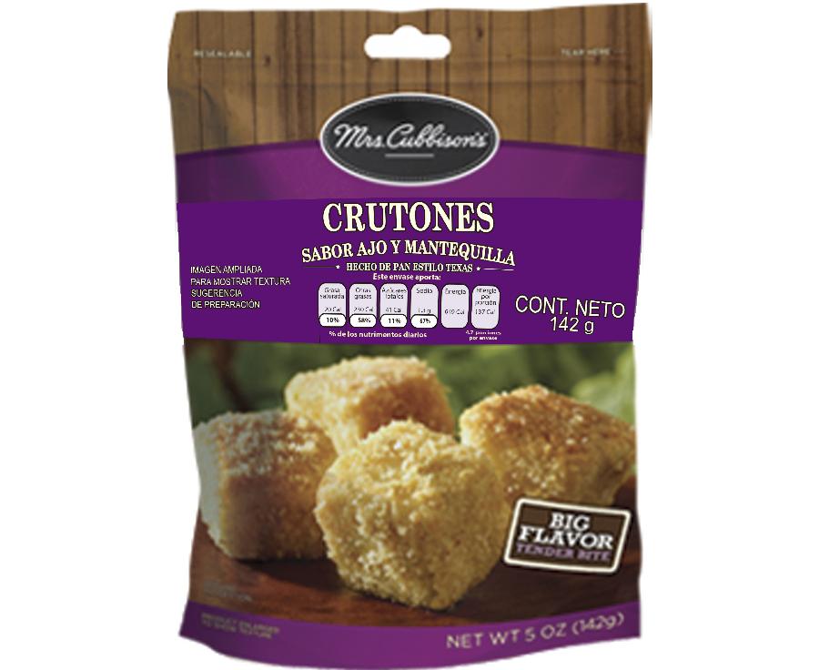 Mrs. Cubbison's - Crutones Estilo Texas Ajo y Mantequilla