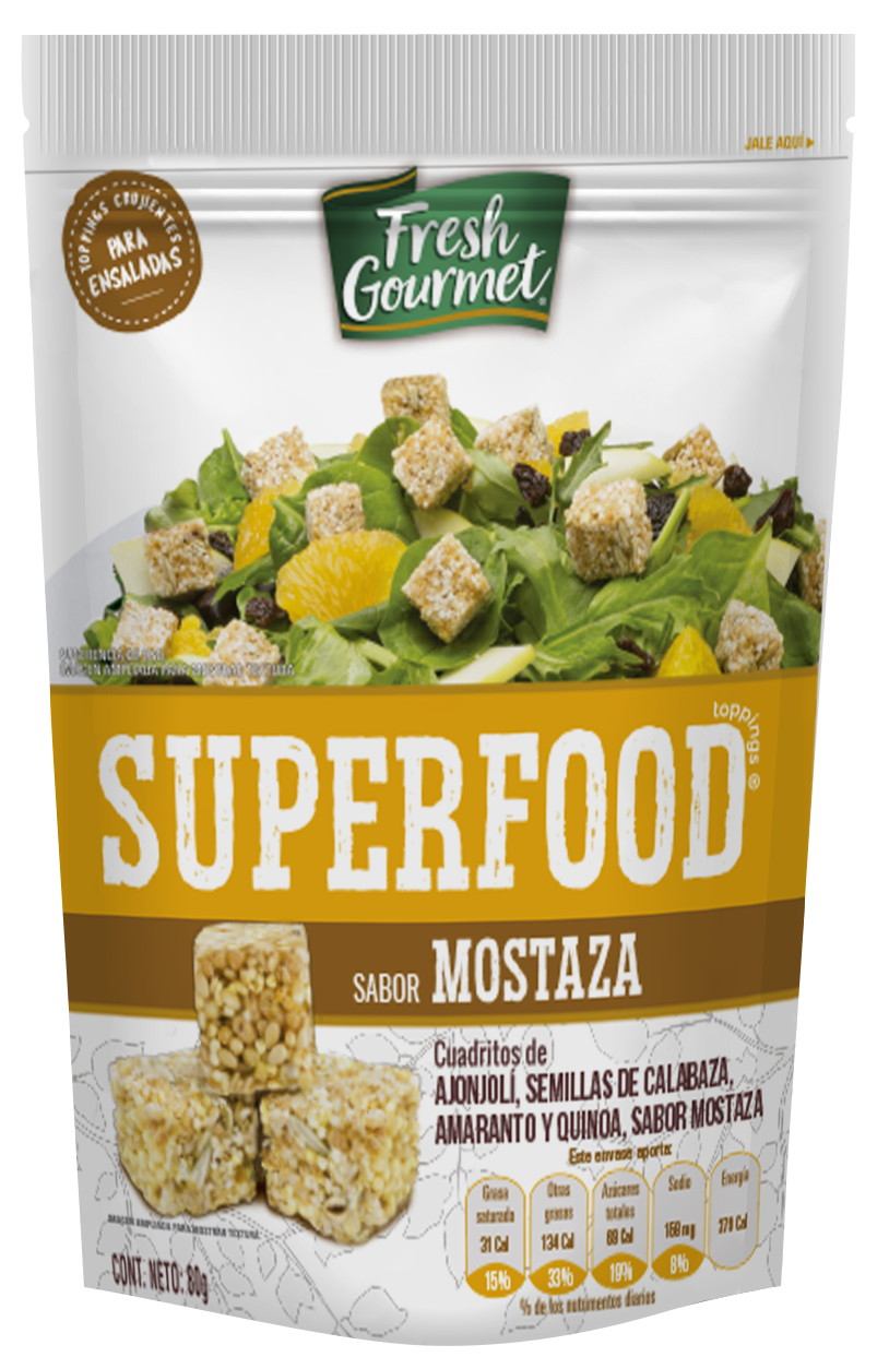 SUPERFOOD Mostaza