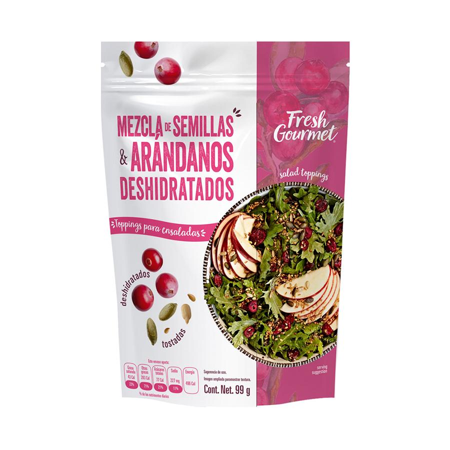 Fresh Gourmet - Semillas & arándanos deshidratados