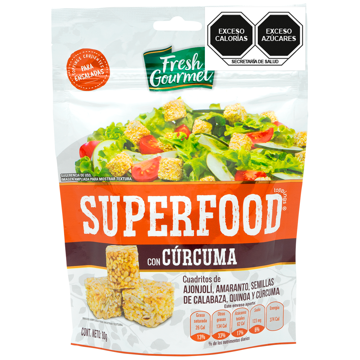 Fresh Gourmet - Superfood Cúrcuma