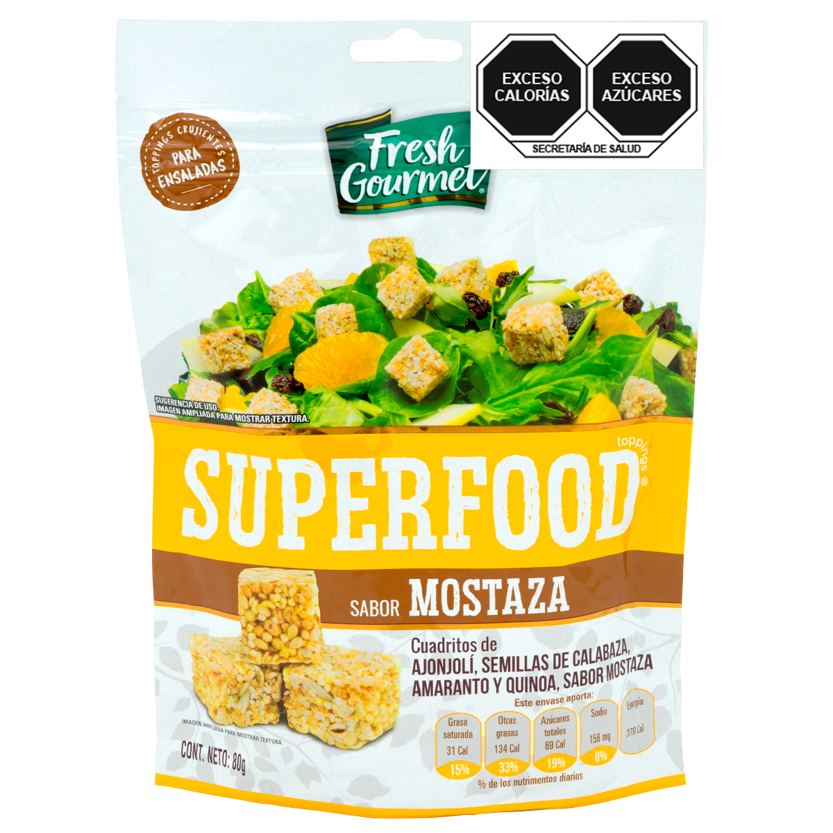 Fresh Gourmet - Superfood Mostaza