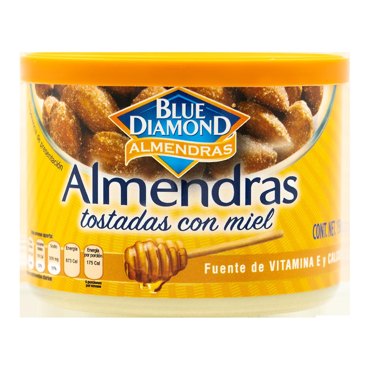 Blue Diamond - Almendras Tostadas con Miel