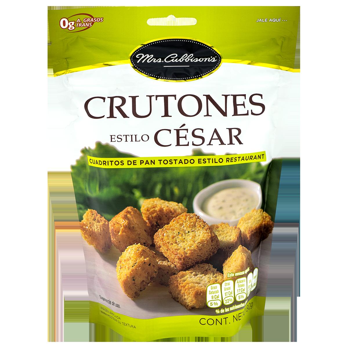 Mrs. Cubison's - Crutones Estilo César - Reinventa tus platillos