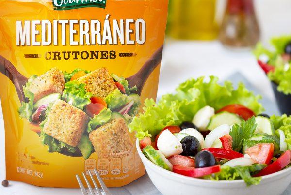 Ensalada Griega con Cruton Mediterráneo Fresh Gourmet