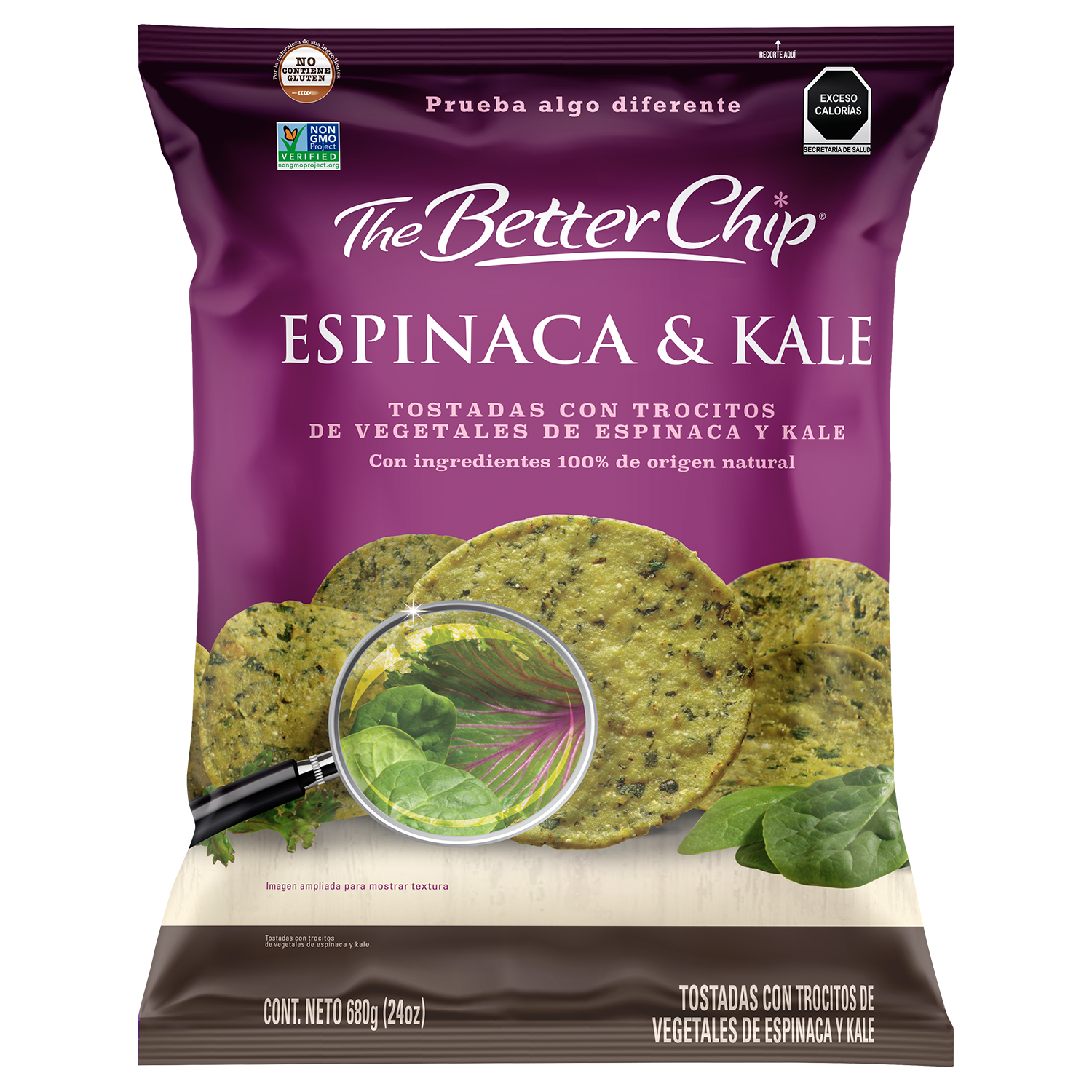 The Better Chip Espinaca & Kale - Club